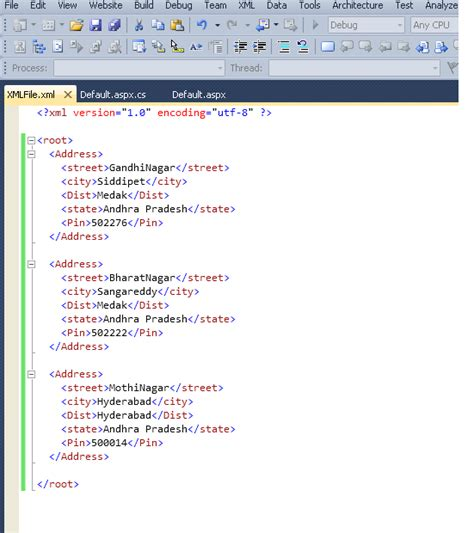 xml vbscript tutorial net tutorial how to bind a xml file to a gridview using