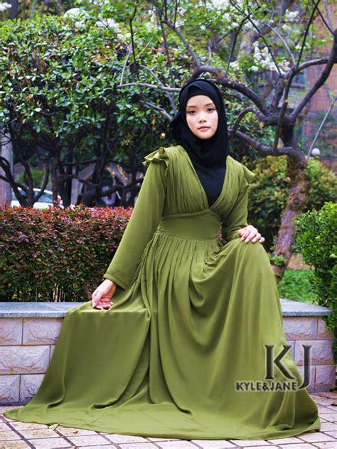 Fashion Muslim Scarf Jilbab Syria Sellen Cutting colorful abayas collection for trendy style fashion ideas