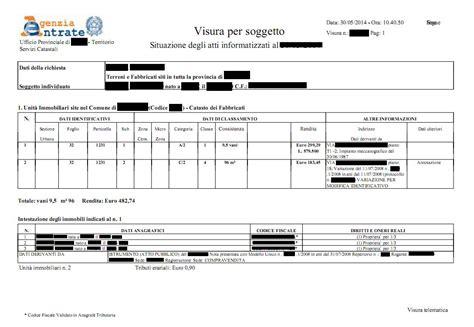 ufficio catasto roma acquisto casa documenti necessari roma