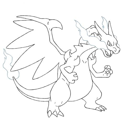 999 coloring pages pokemon mega charizard coloring pages www pixshark com images