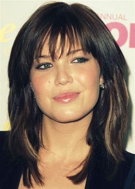 layered hair styles for round face over 50 medium length hairstyles for women over 50