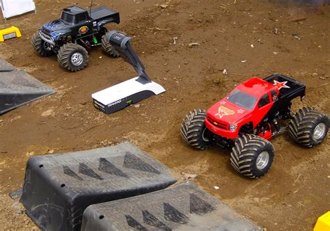 monster truck races monster trucks hit the dirt rc truck stop