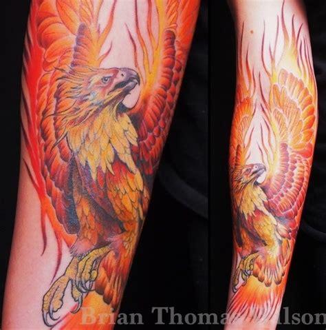 realistic phoenix tattoo ideas central