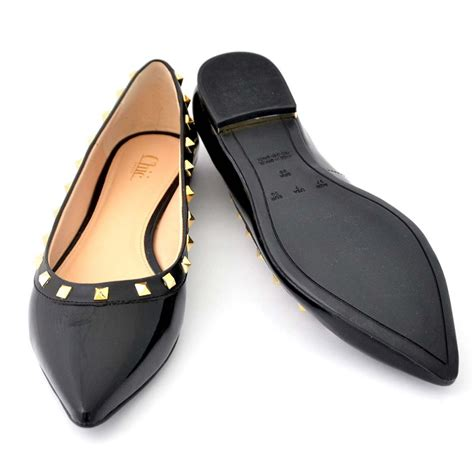 buy flat shoes buy flats bellies stylish black color flat