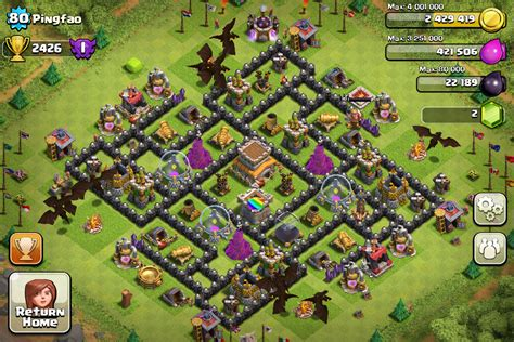 best defense town hall level 8 2016 top 10 clash of clans town hall level 8 defense base design