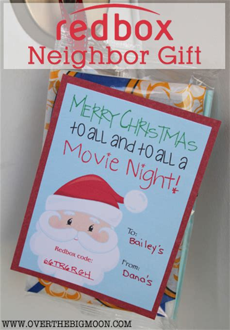 How To Get A Redbox Gift Card - 20 neighbor gift ideas for christmas my sister s suitcase packed with creativity