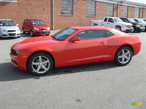 2011 inferno orange metallic chevrolet camaro lt coupe 38795510 gtcarlot car color