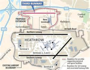 layout heathrow airport third runway at heathrow government considering