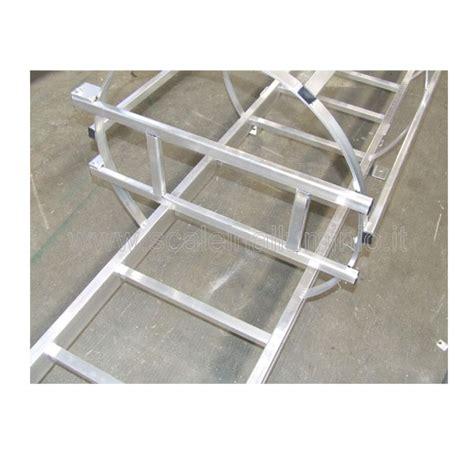 scala con gabbia scale con gabbia di protezione alla marinara