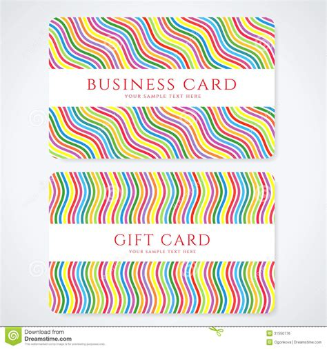 business discount card template colorful gift card discount card business card royalty