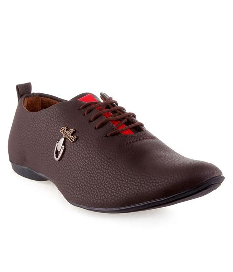 trendy shoes kraasa trendy brown casual shoes price in india buy