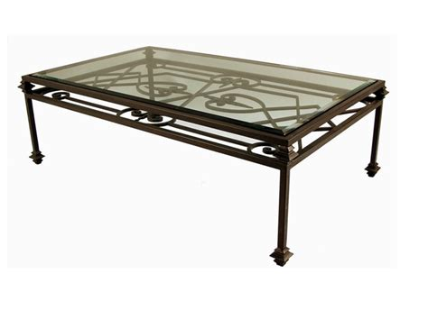 iron coffee table glass top wrought iron coffee table design images photos pictures
