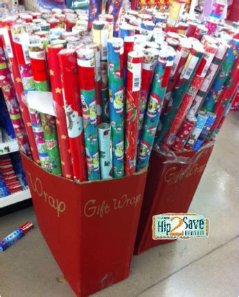dollar tree christmas letters dollar tree free american greetings or spongebob wrapping paper hip2save