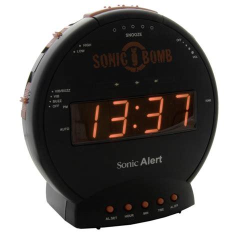 Alarm Bom Sonic Bomb Alarm Clock Getdigital
