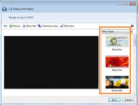 cara format dvd yang sudah di burning cara burning dvd menggunakan windows dvd maker di windows