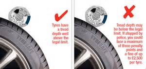 Car Tyre Regulations Uk Check Your Tread Depth Which Tyres