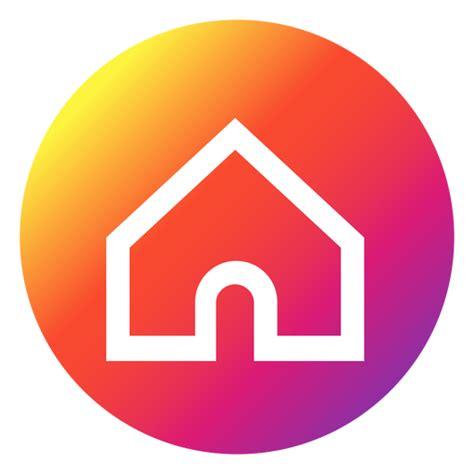 Home Button 2 instagram home button transparent png svg vector