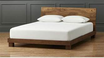 bed for dondra teak bed cb2