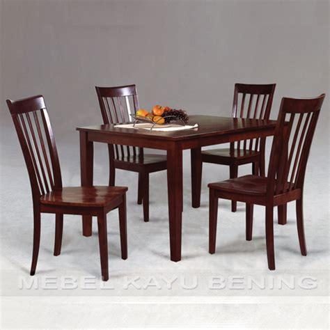 Set Meja Makan 10 set meja makan model minimalis kbsm 003