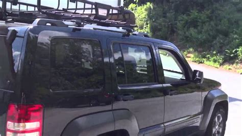 roof rack for jeep liberty 2012 jeep liberty thule roof rack and basket