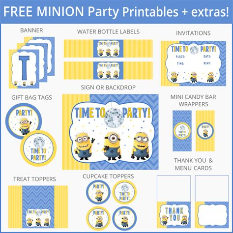 printable minion quotes free despicable me minion party printables and more