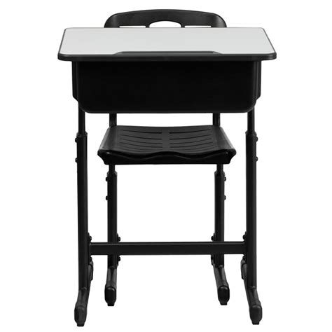 student desk with chair adjustable height student desk and chair with black
