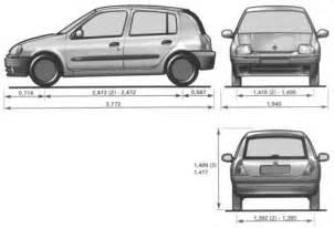 Renault Clio Dimensions Renault Clio