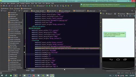 tutorial design ui android android ui design tutorial youtube