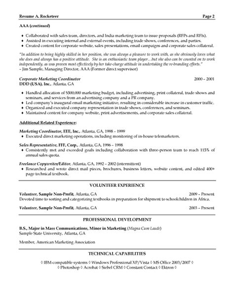program director resume examples it sales manager samples executive