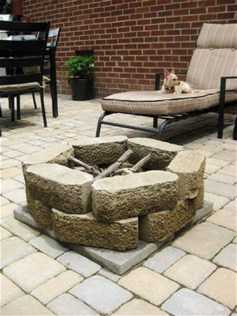 How To Build A Firepit With Pavers 25 Best Ideas About Cheap Pit On Pinterest Cheap Benches Cheap Patio Cushions And Cheap