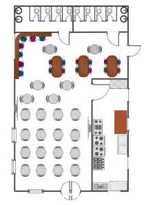 Cafe Floor Plans How To Use House Electrical Plan Software Cafe