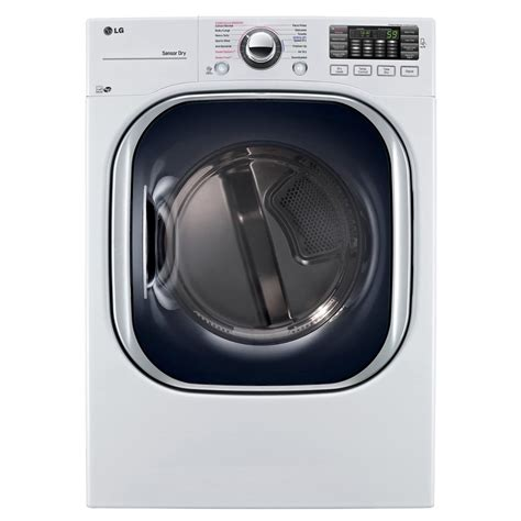 lg electronics 7 4 cu ft gas dryer with turbosteam in