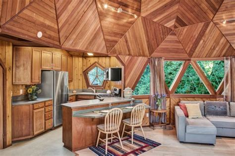 this geodesic dome home could be yours for