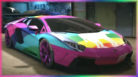 rainbow chrome lamborghini jahova s new rainbow lamborghini aventador need for
