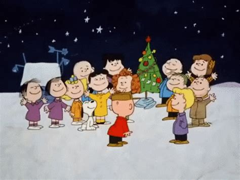 favorite christmas  gifs  charlie brown christmas giphy