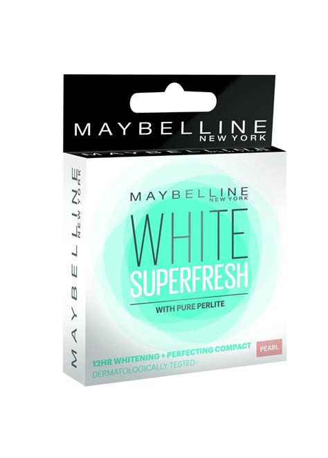 maybelline new york white fresh compact review