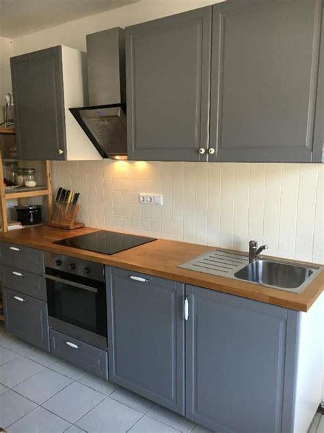 Ikea Küche Mit Elektrogeräten k 220 chenzeile mit elektroger 195 164 ten ikea free