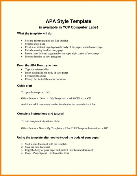 blank apa format template speech essay and research paper outline template