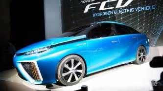 Toyota Hydrogen Electric Car Toyota Launches Vehicle Powered By Hydrogen Air Tal