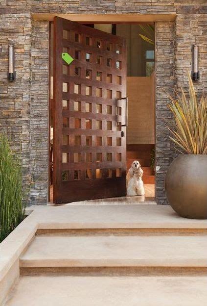 grandiose  big front doors
