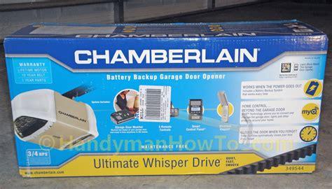 Chamberlain Belt Drive Garage Door Opener Review Chamberlain Belt Drive Garage Door Opener Review