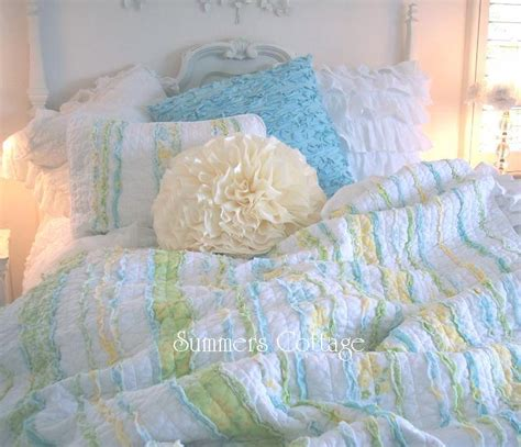shabby chic cottage bedding shabby chic bedding cottage pillows shams