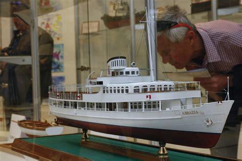 boat building exhibition observe the ship miniatures of rijeka croatia times