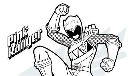 power rangers mask coloring pages coloring power rangers book pink ranger download mighty