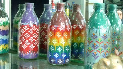 art design in bottle learn how to do the sand art bottle 1 by rezan yusef