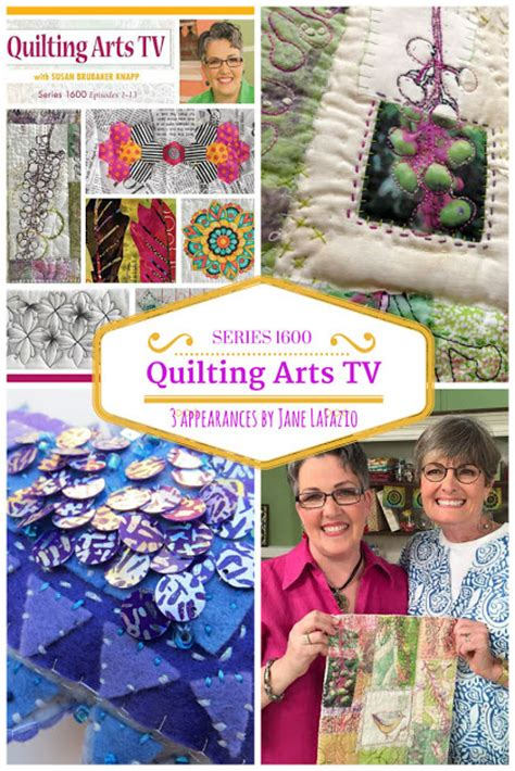 Quilting Tv Shows by Janeville Quilting Arts Tv Series 1600 And A Giveaway