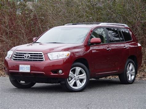 Price Of Toyota Highlander 2008 Test Drive 2008 Toyota Highlander Limited 4x4 Autos Ca