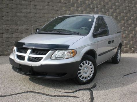 how it works cars 2003 dodge caravan navigation system buy used 2003 dodge caravan cargo van econonline sprint express savana work van carfax in fox
