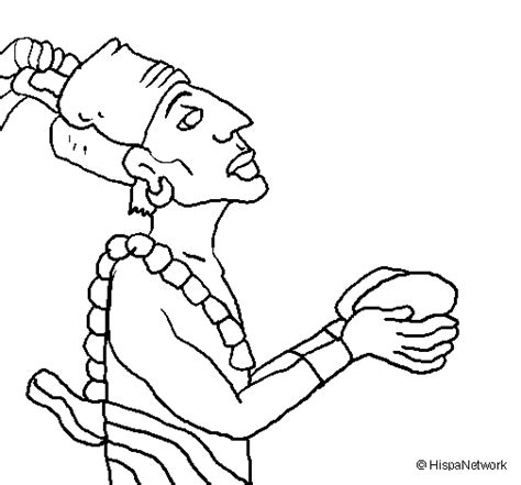 Free Coloring Pages Of Mayan Mayan Coloring Pages