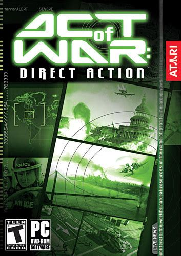 full version pc games direct download act of war direct action pc game full version free
